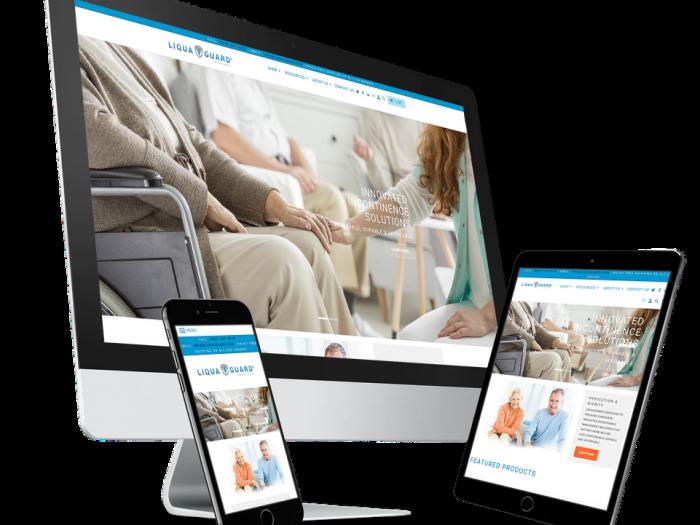 Liquaguard Shopify Website Design by Notch Solutions