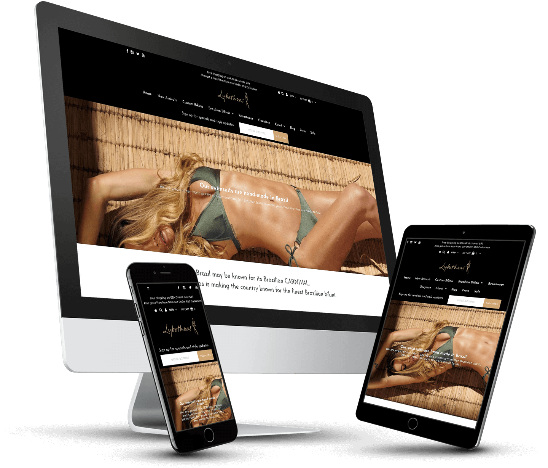 Shopify Marketing & Design Edits LYBETHRAS