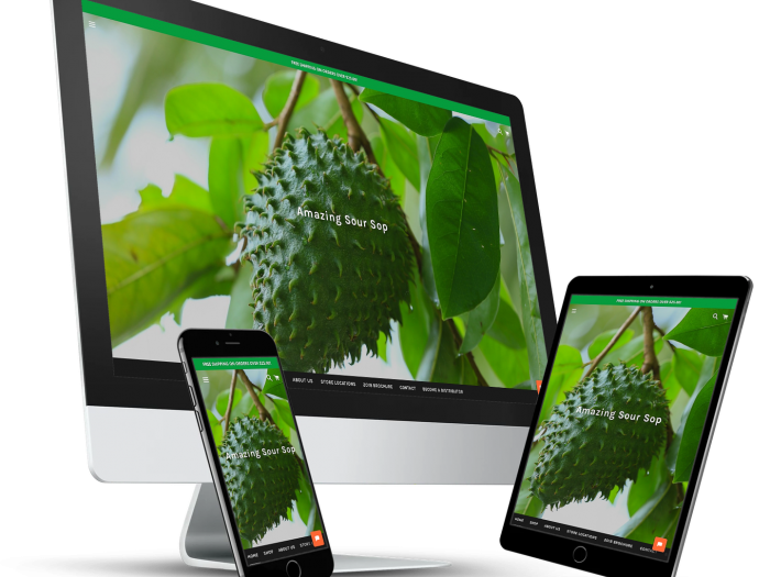 Amazing Sour Sop Shopify Website Design & Marketing