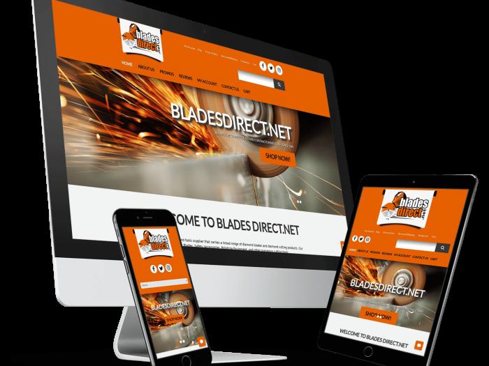 Blades Direct WordPress Website Design & Content Marketing