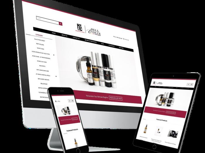 Makeup Artists Choice Website Design