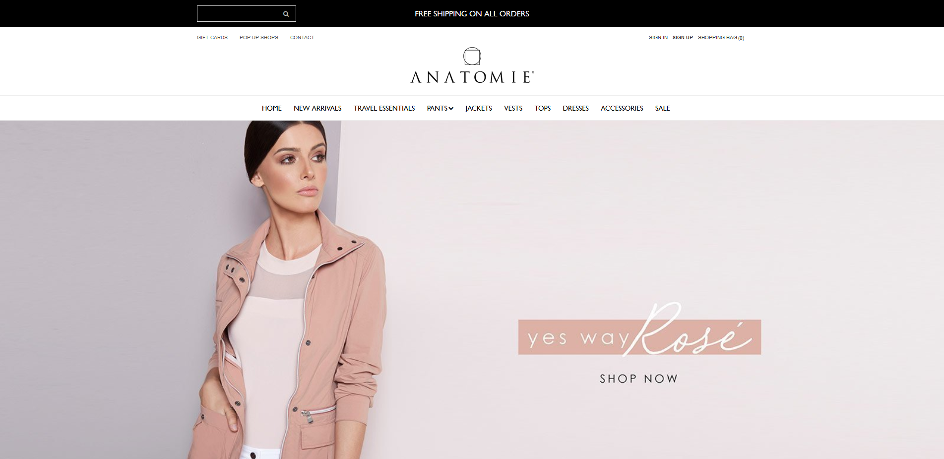Anatomie Shopify Product Page Design by Notch Solutions