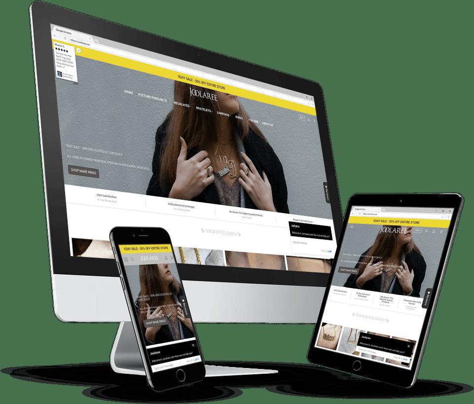 Joolaree Website Design By Notch Solutions