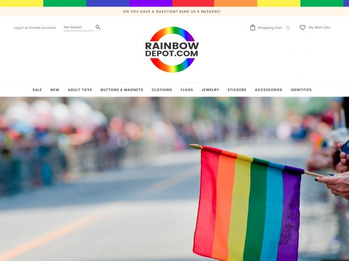 Rainbow Depot Website Design By Notch Solutions