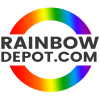 Rainbow Depot Logo Design by Notch Solutions