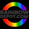 Rainbow Depot Logo Design by Notch Solutions