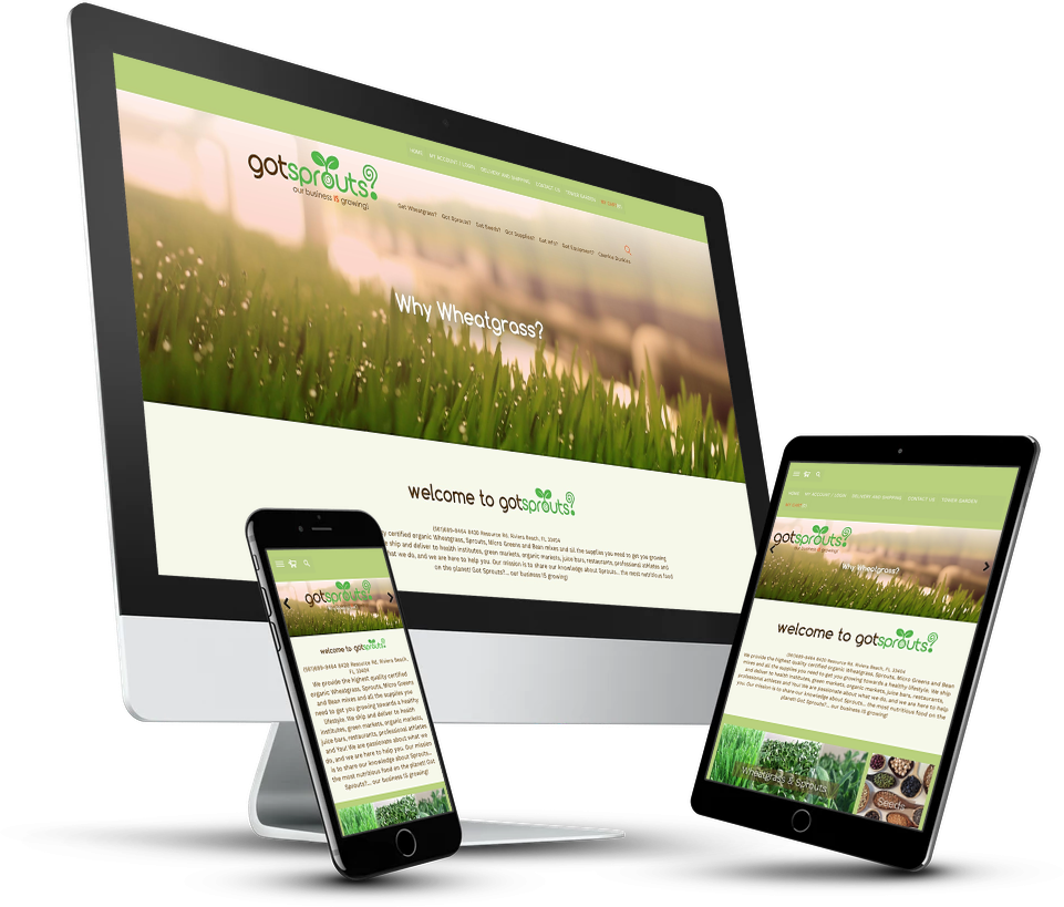 Got Sprouts Website Design Edits From Notch Solutions