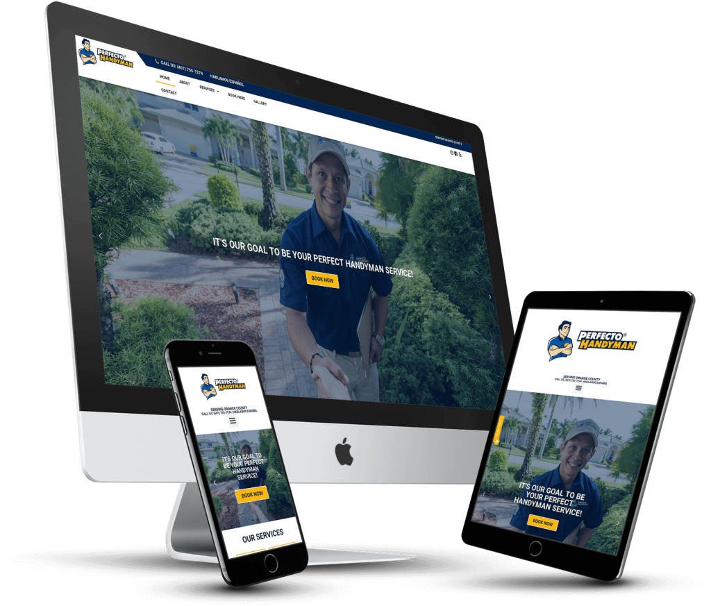 Notch Solutions - Perfecto Handyman Website Design Orlando