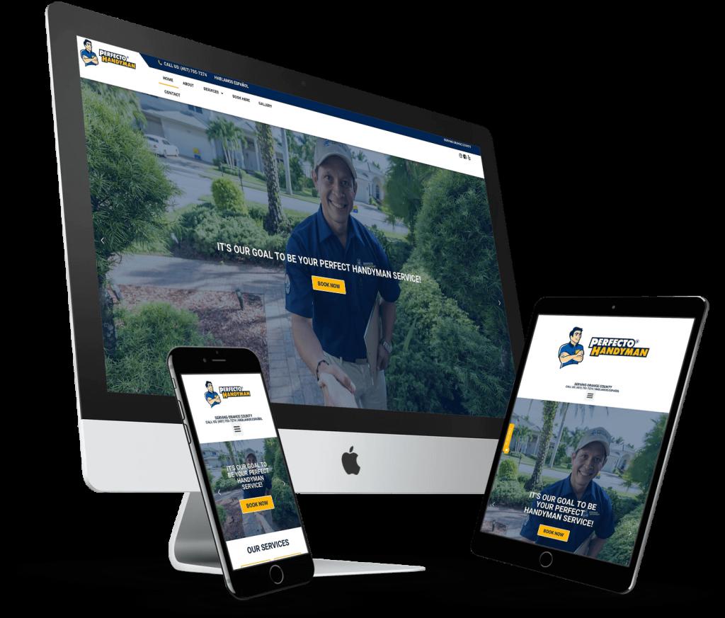 Notch Solutions - Perfecto Handyman Website Design Orlando