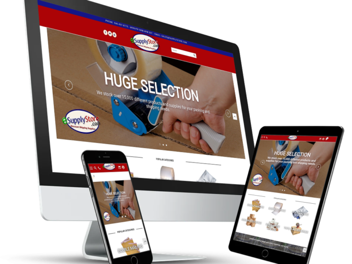 3dcart Website Design Esupply Store